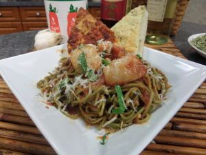Spicy Scallops & Spinach Pasta   From the Sea   Pinterest