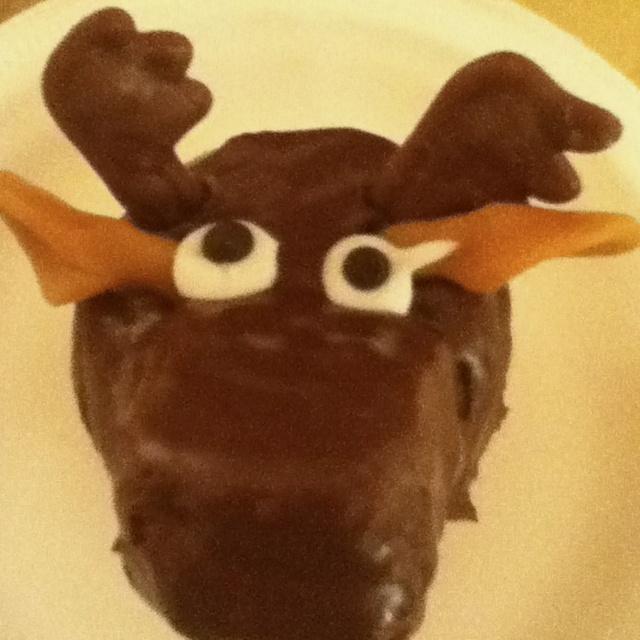 Moose+Cupcakes Moose cupcake | My Style | Pinterest