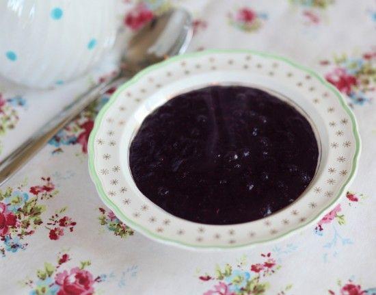 Bluberry porridge | Breakfast Perfection | Pinterest