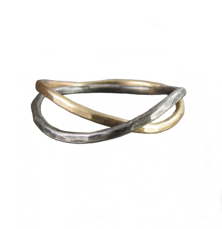 The gallery for interlocking wedding rings tattoo for Interlocking wedding bands