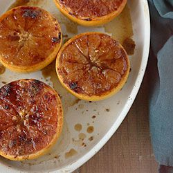 Broiled Grapefruit with Brown Sugar and Ginger- a delicious new way to ...