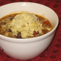 Chicken Tortilla Soup IV Allrecipes.com - tried this one tonight; it's ...