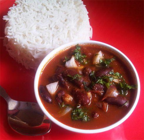 Rajma masala, red kidney beans #vegan #glutenfree