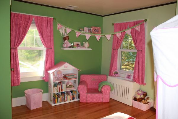 Pink And Green Girls Room Bedroom Ideas Pinterest