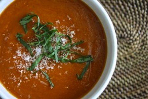 Tomato Basil Soup | eat|healthy | Pinterest