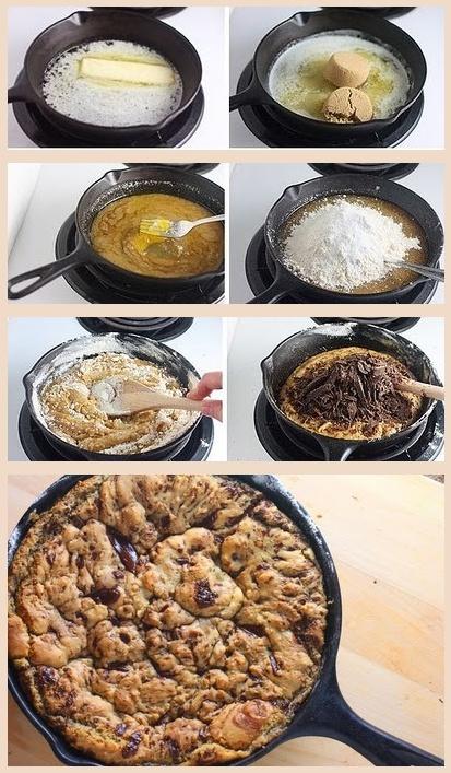 ... skillet cookie recipe http www sophistimom com one pan skillet cookie