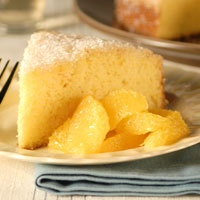 Orange Cornmeal Cake - from the PBS show Everyday Food