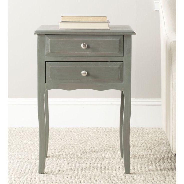 lori blue grey accent table