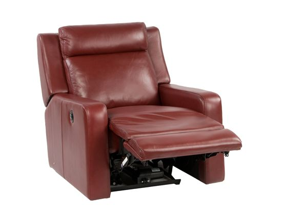 camilo power recliner red 895 dania home style pinterest