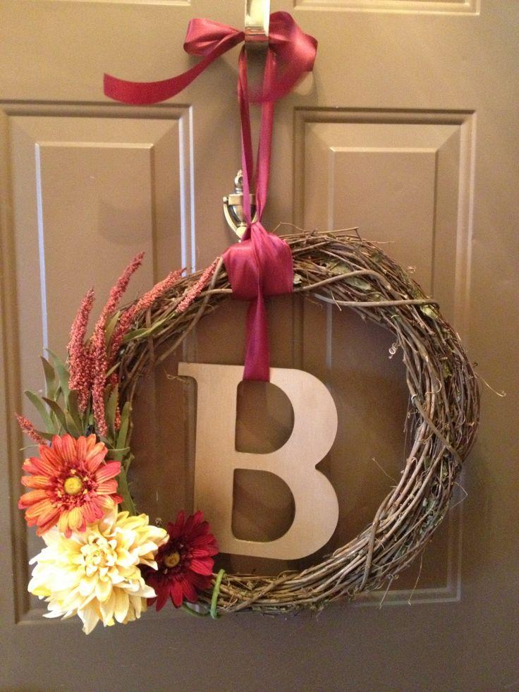 Fall wreath diy wreaths pinterest