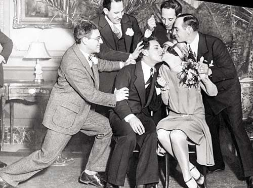 The 5 marx brothers and zeppo's bride marion benda from left to