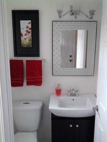 Simple but elegant powder room | /::/FOR THE CASA/::/ | Pinterest