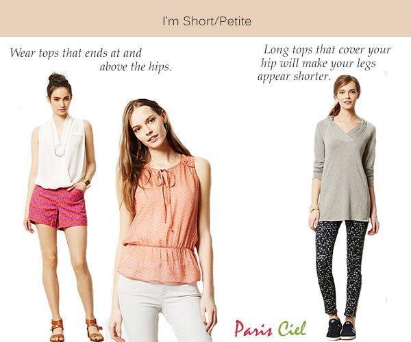 Style Tips For Short or Petite Women Paris Ciel - EN