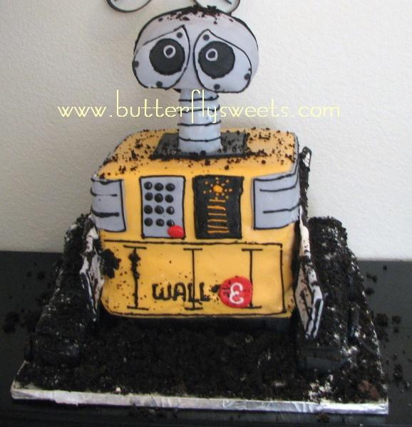 wall e birthday cake