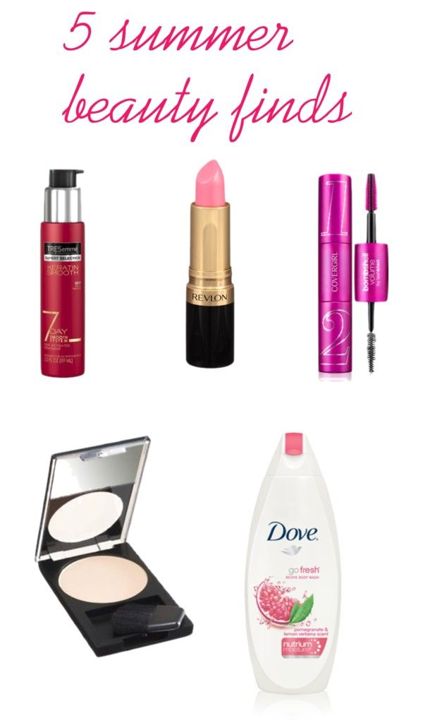 five summer beauty finds you can buy at the drug store.