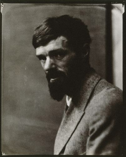 D.H. Lawrence by Nickolas Muray, 1923