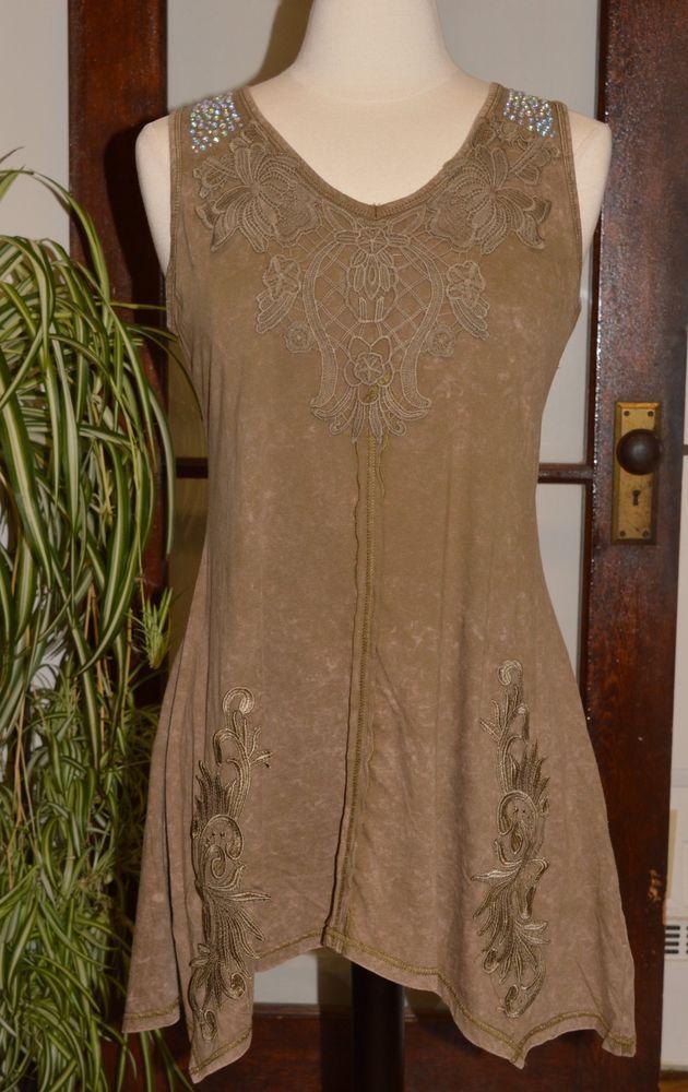 Pretty Angel Clothing Vintage Boho Sleeveless Tunic