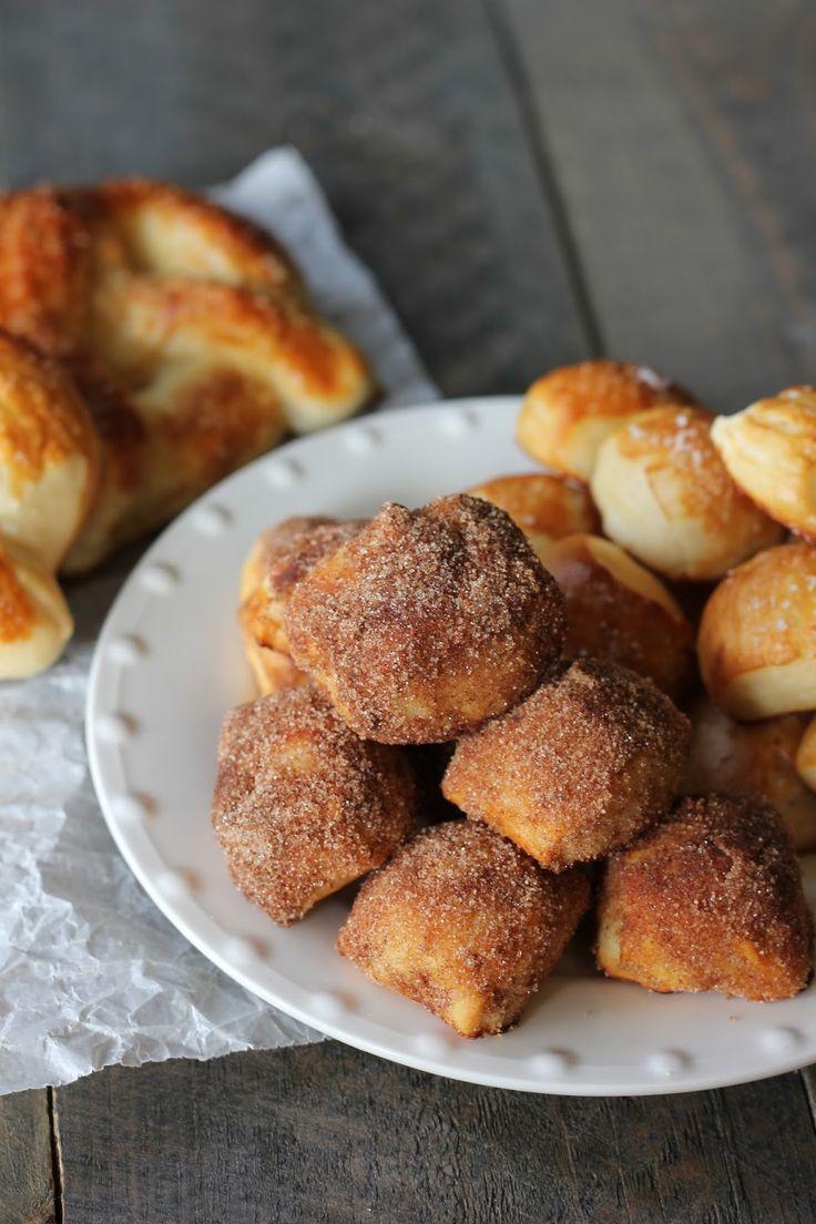 Soft Pretzel {Bites} | Food | Pinterest