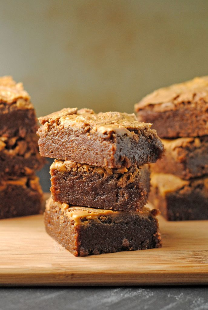 Peanut Butter Swirl Brownies | Cookies and Sweets | Pinterest
