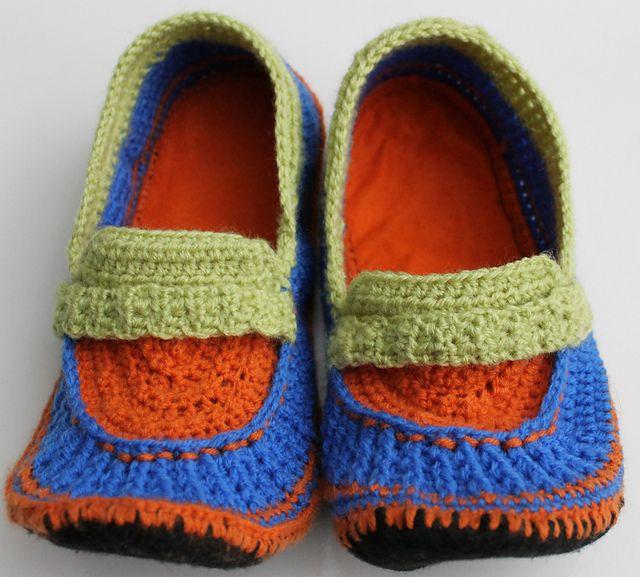 Free Crochet Pattern For Vans Slippers : Vans Crochet Slippers Pattern - Bing images
