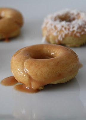 Vanilla Cardamom Mini Donuts. They're gluten free, grain free, dairy ...