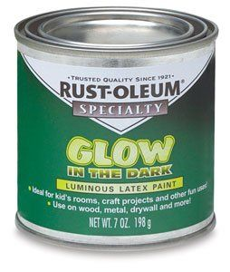 rust oleum glow in the dark paint awesome for outside bench or a. Black Bedroom Furniture Sets. Home Design Ideas