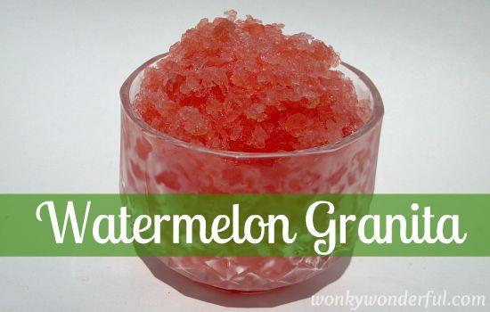 granita watermelon granita watermelon cinnamon granita lemon granita ...