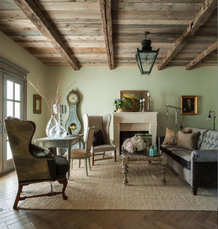 Our Simple Living Room Country Cottage Cozy Pinterest