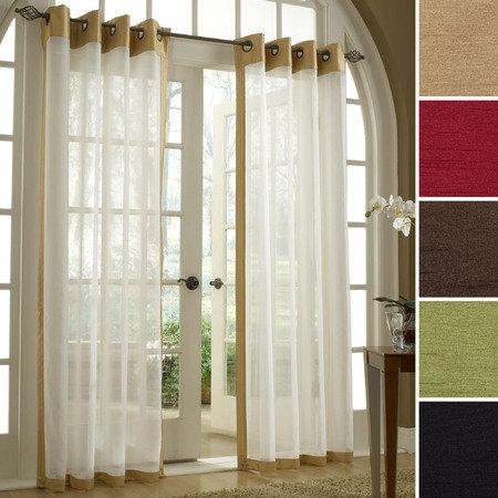 Color Block Curtain Panels DIY Purple Curtains