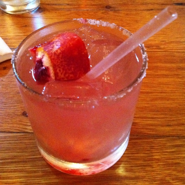 Blood orange margarita from Bess Bistro | Favorite Recipes | Pinterest