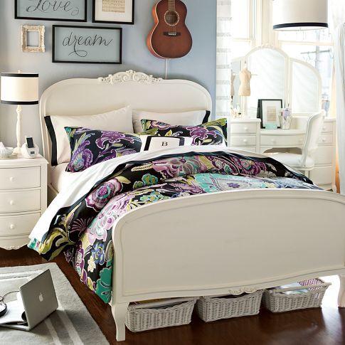 lilac bed pbteen bedroom pinterest