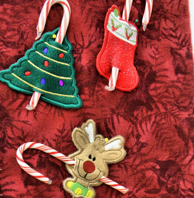 Candy cane holders perfect little gifts and decorations