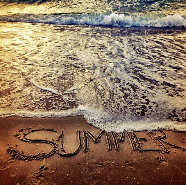 Summer at the beach.  My favorite!!!