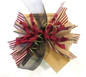 Christmas Gift Wrapping Bowdabra Spiky Bow | Bowdabra Blog