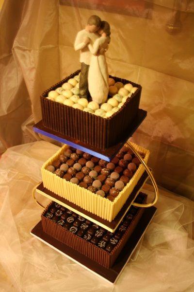 Chocolate Truffles Wedding Cake | Cakes and Cupcakes | Pinterest