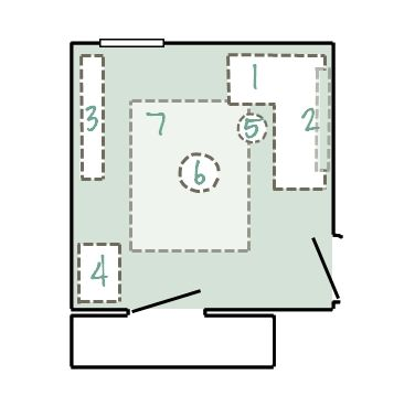 Scrapbook Craft Room Layouts Joy Studio Design Gallery