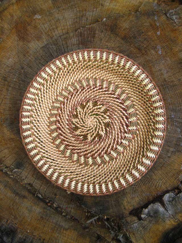 Плетение из газетных трубочек корневое плетение