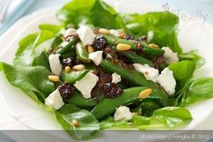 Sugar Snap Pea, Caramelized Shallots and Arugula Salad Sugar snap peas ...