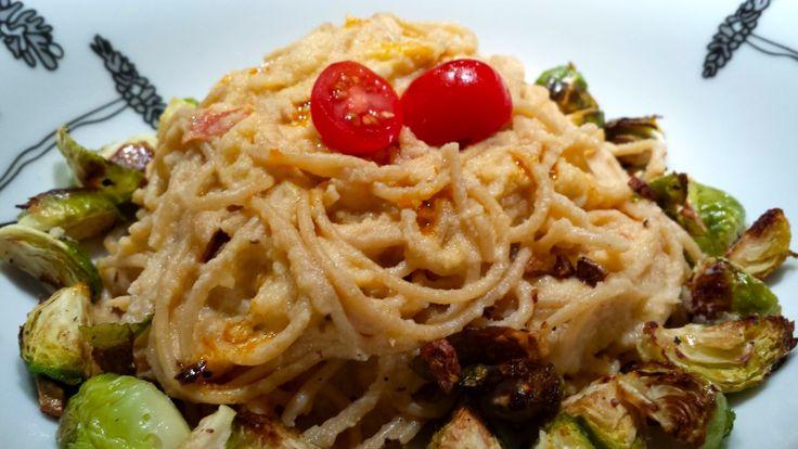 Creamy Sun-Dried Tomato Cauliflower Sauce over Whole Wheat Pasta ...