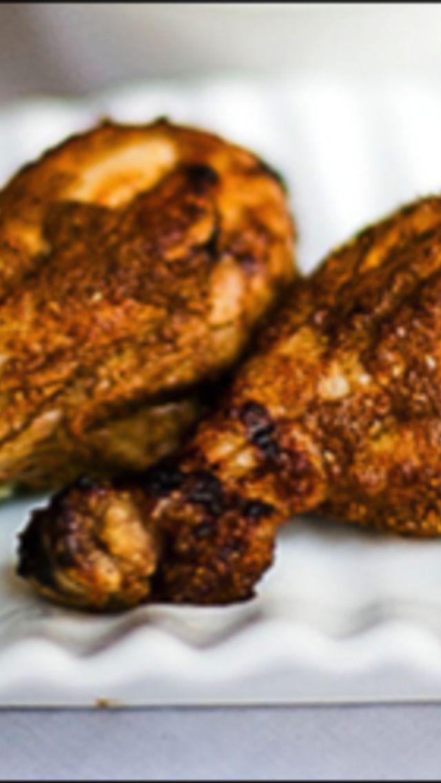 Tandoori Chicken with Cucumber Raita | Indian food | Pinterest