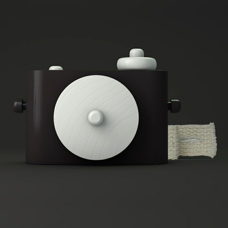 Image of Pixie B&W - Wooden Toy Camera | baby d | Pinterest