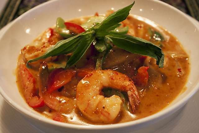... : Eating Disorders – Thai Shrimp in a Pineapple Cannabis-Curry