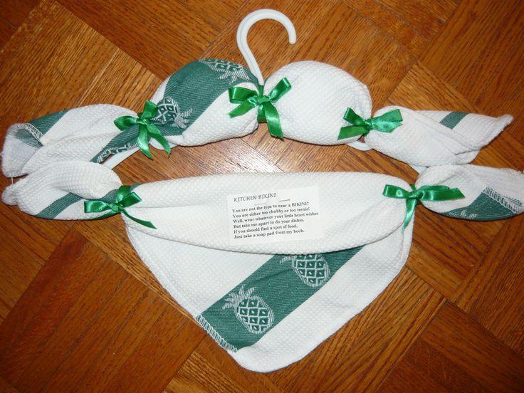 kitchen bikini towel set arts crafts pinterest