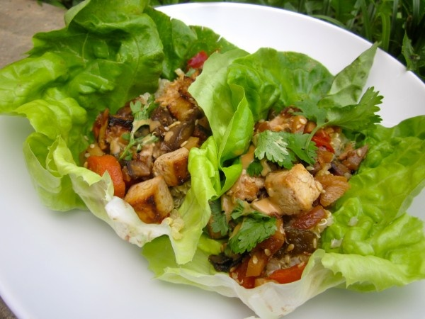 vegetarian lettuce wraps | healthy foods or vegetarian | Pinterest