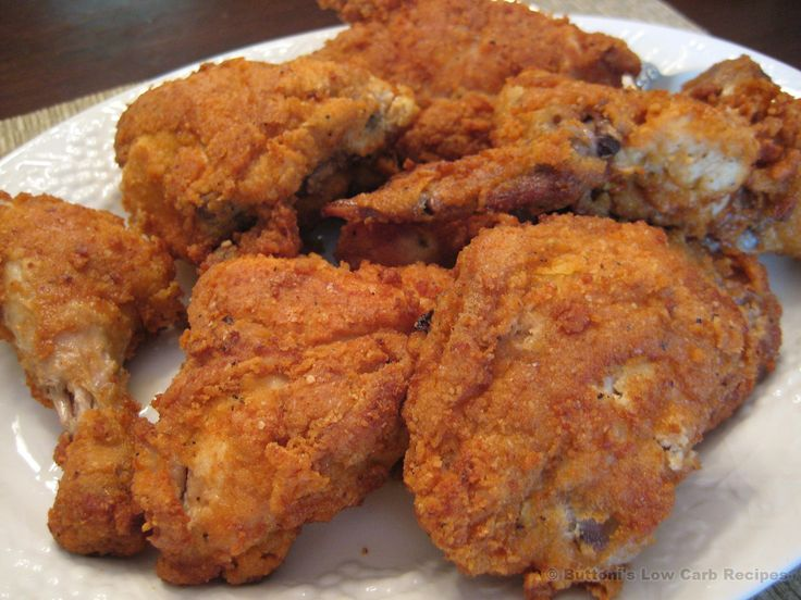 Fried chicken low carb recipes pinterest