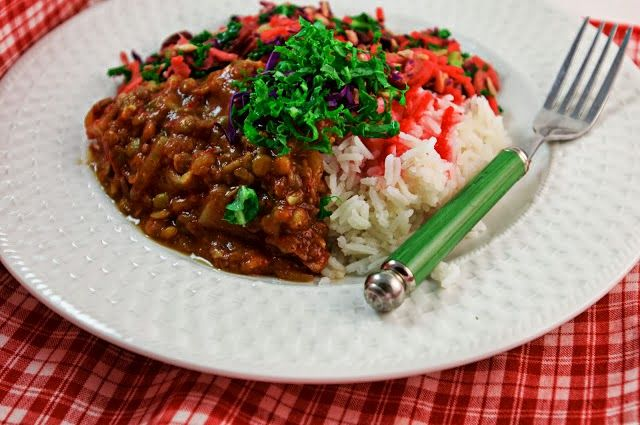 MELOMEALS #vegan spiced lentils | Meatless Mondays | Pinterest
