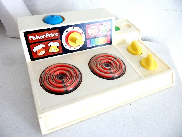 Notre cuisine fisher price vintage my vintage style - Cuisine bilingue fisher price ...