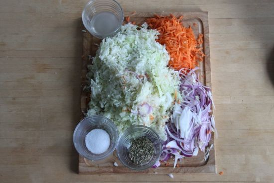 Small Batch Sauerkraut Recipe — Dishmaps