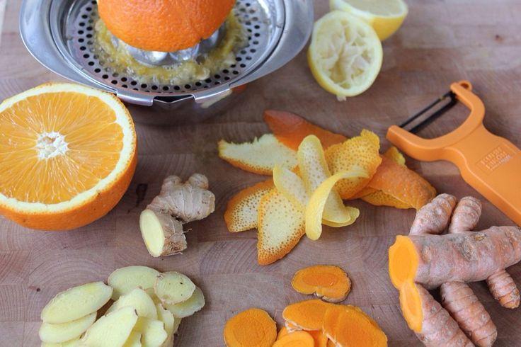Turmeric Ginger Tea | Good Health | Pinterest