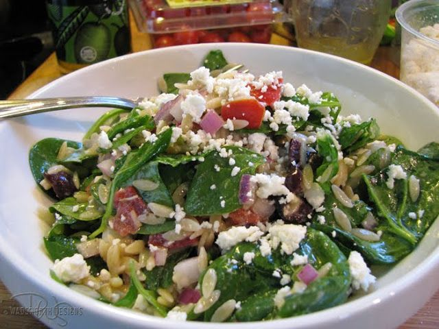 olive orzo salad orzo salad with basil and tomatoes greek orzo salad ...